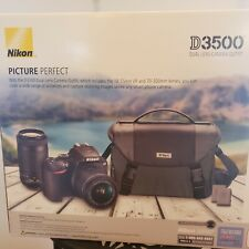NIKON D3500 DSLR CAMERA WITH ACCESSORY LENSES AND MORE