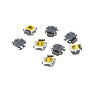 10pcs 4Pin SMD Turtle type Tact Power Side Switch Button