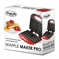 Waffle maker pro. duo deluxe (nonstick) fab buy !!!