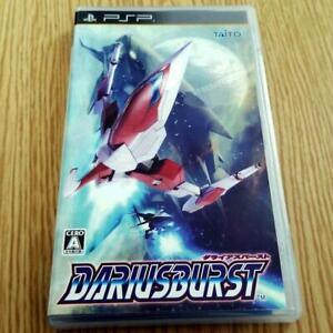 PSP DARIUS BURST Playstation Portable Japan Import Game