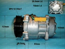 NEW Auto Air 14-7808P A/C Compressor / Pump For CITROEN PEUGEOT REDUCED TO CLEAR