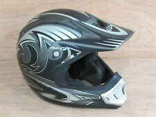 Fulmer AF-R Motorcycle/Snowmobile/ATV Helmet BLACK  Gray Size Small