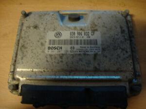 VW VOLKSWAGEN LUPO 1.0 ENGINE MANAGEMENT ECU 030906032CP BOSCH 0261207199