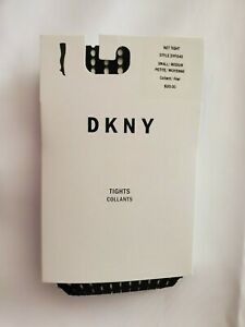 DKNY Women's Fashion-Net Tights Black S/M
