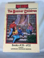Vintage The Boxcar Children Box Set 4 - Book Volumes 29-32 by Gertrude Warner