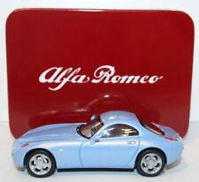 Artículos de automodelismo y aeromodelismo Alfa Romeo color principal azul escala 1:43