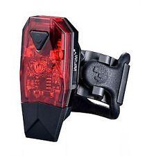 Infini Mini-Lava super bright micro USB rear light, black with red lens blk/red