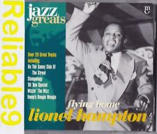 Lionel Hampton - Flying home CD 21 tracks Digitally remastered- 1997 Made in EU