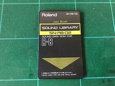 Tarjeta De Rom Roland SN-R8-02 Jazz Cepillo Para ROLAND R8 R-8 MK Ⅱ Envío Gratis!!!