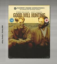 GOOD WILL HUNTING - UK EXCLUSIVE BLU RAY STEELBOOK - NEW & SEALED