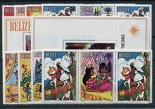 Belize 518/25 ZF Block 23/24 postfrisch / Kinder - Märchen ...............1/3211