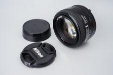 Nikon AF Nikkor 50mm f/1.4 f1.4 D Prime Auto Focus Lens
