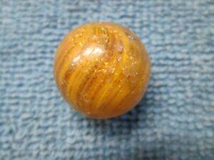 "Vintage Onionskin Lutz Marble - 0.75"""