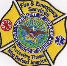 Fire&Emergency Services Dept. of D.  Fire Patch NEW !!