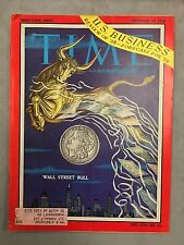 TIME MAGAZINE DECEMBER 29, 1958 WALL STREET BULL US BUSINESS 59 FORCAST