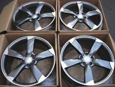 """19"""" Wheels Fit Audi A8 A6 A4 A5 Q5 VW CC Tiguan 5x112 19x8.5 5x112 +35 Rims Set"""
