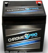 BATTERY Chrome SLA12-4.5AH T1, Sealed Lead Acid, 12 mo Warr, FREE SHIP CP-S00026