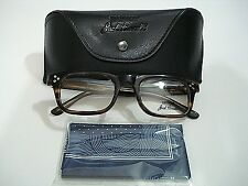 Converse Jack Purcell P004UF Brown Horn Eyeglasses Rx-Able Frame