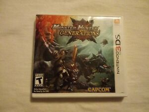 Monster Hunter Generations (Nintendo 3DS, 2016) Tested & Works
