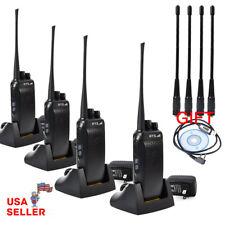 UHF Walkie Talkie 2 Way 16CH 400-480MHZ Ham Radio Long Range Free Cable Antenna
