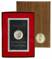 1971-S United States Proof Eisenhower Dollar San Francisco Mint Box Included