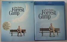 New Forrest Gump 25Th Anniversary Blu Ray + Slipcover Sleeve Free World Shipping