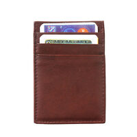 Portafogli Cuoio Pelle Leather Wallet & Card Cases Italian Made In Italy PC02 db