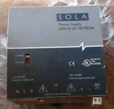 Sola Sdn 8 24 100 Reda Power Supply Used 30 Day Warranty