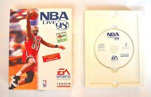 EA SPORTS PC Game NBA Live 98 Basketball Windows 95/98 Game Sport