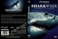 SHARK WEEK. SHARK BITE SUMMER. A BITE TO BITE ACCOUNT OF THE SHARK. NEW DVD