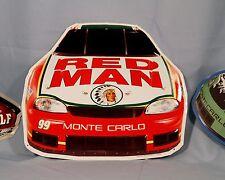 RED MAN TOBACCO RACING  METAL SIGN  NASCAR (BULK ITEM 25 SIGNS)