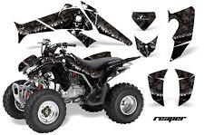 ATV Decal Graphics Kit Quad Sticker Wrap For Honda TRX250X 2006-2018 REAPER BLK
