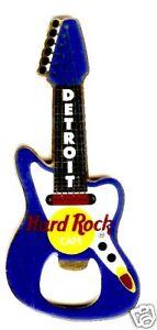 Hard Rock Cafe DETROIT Bottle Opener Guitar Magnet (domestic box).