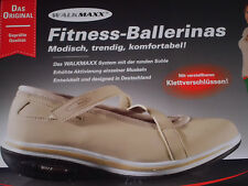Walkmaxx Ballerinas Fitness Sommer Ballerina Beige Gr 38 Damenschuhe Po Rücken