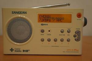 SANGEAN DPR-99 Plus - Tragbare Digital Radio DAB+