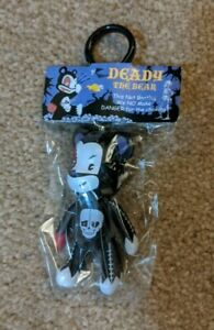 Voltaire Deady Bear Qee Keychain MINT CONDITION