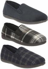 Pantofole da uomo neri Clarks