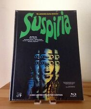 SUSPIRIA - Exclusive Limited & Numbered Blu-Ray & DVD MEDIABOOK Cover C - NEW
