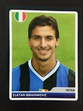 Zlatan Ibrahimovic Rookie Sticker Panini Champions League 2006 2007 #140 Inter