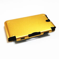 Gold Aluminum Metal Protective Hard Case Cover for Nintendo 3DS LL 3DS XL