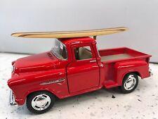 Chev 55 Stepside Truck Surfboard KT.5330.DS Red