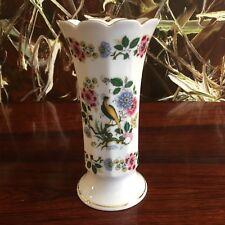 BAREUTHER Waldsassen Bavaria, schöne Vase mit Blumen und Vögel