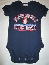 UNIVERSITY OF ILLINOIS AT CHICAGO INFANT BOY BODYSUIT SIZE 6-9 MONTHS NWT