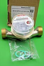"Honeywell S110 Singlejet Pulse Out Water Meter DN20 ¾"""
