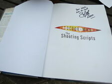 Doctor Who - The Shooting Scripts - signed by Bruno Langley  ( Adam Mitchell )