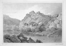 ITALY Sonnenburg at San Lorenzo di Sebato Tyrol- 1870s Original Engraving Print