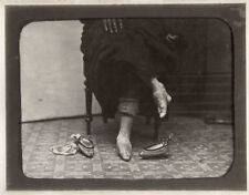 More details for c.1880's photo china - lady with bound feet