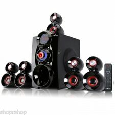 BeFree BFS-600 Bluetooth 5.1 Channel Surround Sound Home Theater with USB and SD