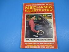 Mechanix Illustrated Magazine March 1965 New Steering System For Your Car
