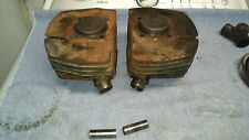 YAMAHA 1962-1966 YD3 250 Twin Cylinder Pair with Pistons FREE S&H